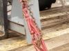 Рычак для натяжение цепей на трале
