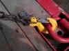 Самозащелкивающийся крюк от цепи для крепления грузов